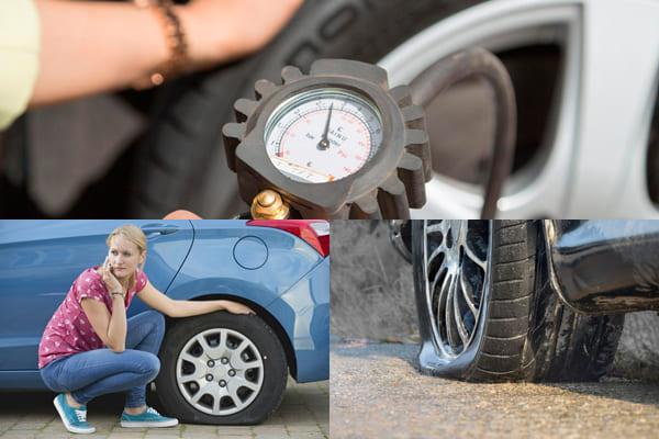 накачать шины
